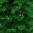 Ёлка фиброоптическая, 90 см, свечение, d нижнего яруса 50 см, 80 веток - фото 902201