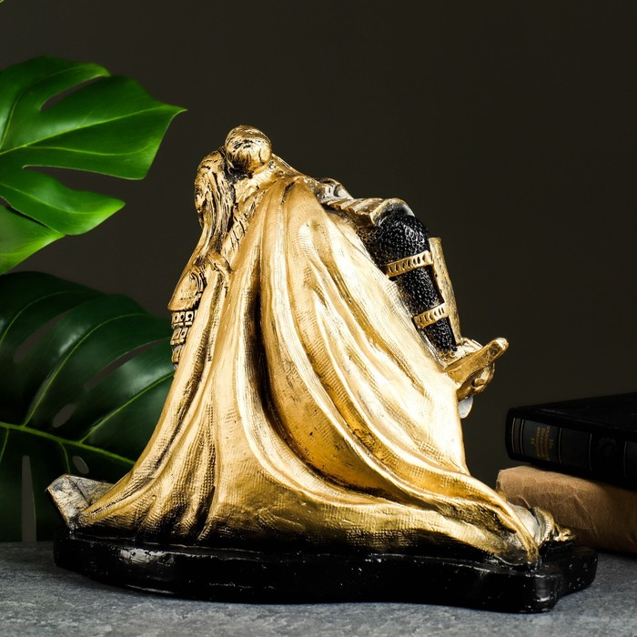 "Статуэтка ""Самурай"" бронза-серебро 30х25х24см"