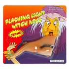 Funny nose the Witch with the wart, light, blister