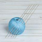 Спицы для вязания, чулочные, d=2мм, 19,5см, 5шт
