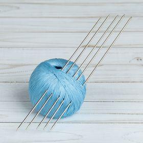 Спицы для вязания, чулочные, d=2мм, 19,5см, 5шт Ош