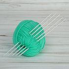 Спицы для вязания, С-389 МПИ, чулочные, d=3мм, 19,5см, цвет белый