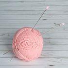 Спицы для вязания, прямые, d=2мм, 33см, 2шт