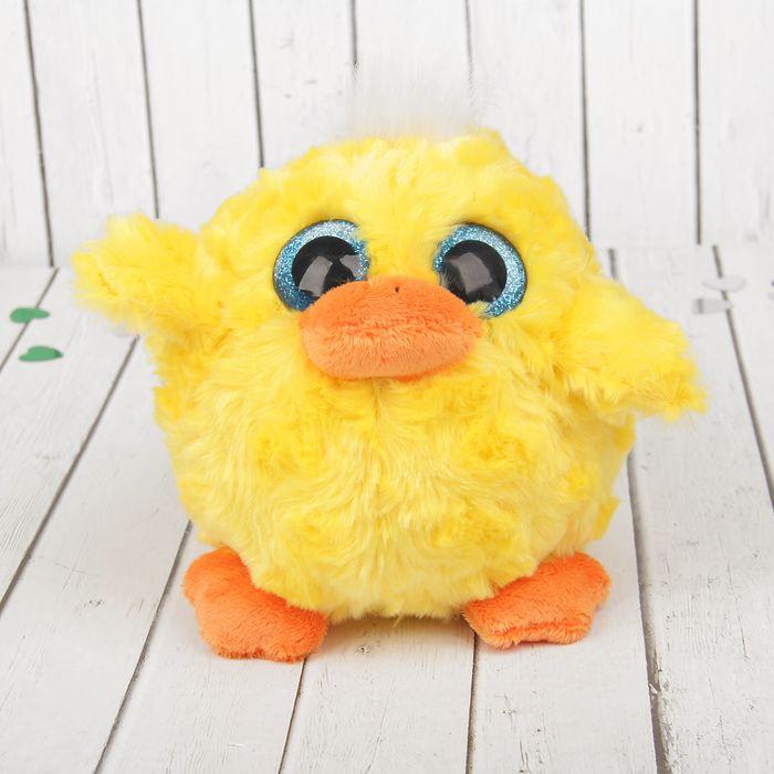 """Мягкая игрушка-подвеска """"Цыплёнок"""" большие глазки"""