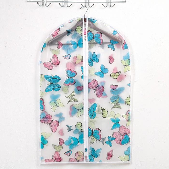 Чехол для одежды 60×90 см «Ассорти», ЭВА, рисунок МИКС - фото 4640346