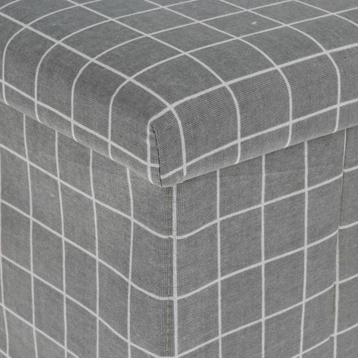 """Короб для хранения (пуф) складной """"Клетка"""""""