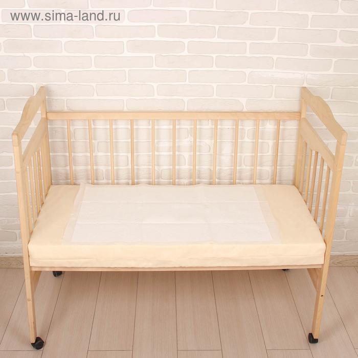 Пелёнка впитывающая детская подкладная, одноразовая, 90х60 см, цвет белый