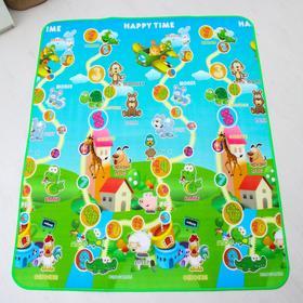 Коврик детский на фольгированной основе «Весёлый счёт», размер 180х150 см Ош