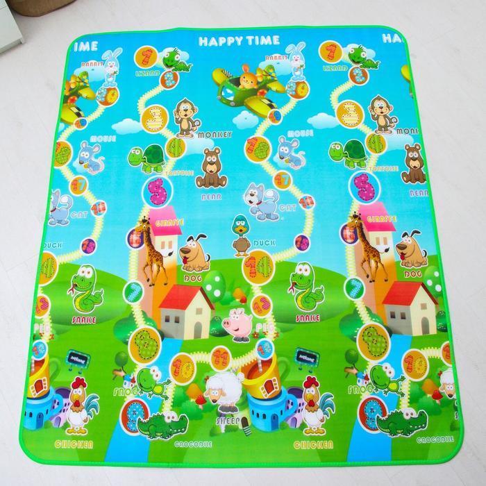 Коврик детский на фольгированной основе «Весёлый счёт», размер 180х150 см - фото 1733405