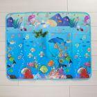 Коврик детский на фольгированной основе «Морское путешествие», размер 119х88 см, цвета МИКС