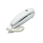 Телефон Ritmix RT-005, набор номера на базе, трубка с проводом, белый