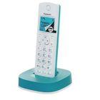 Телефон Panasonic KX-TGC310 RUC DECТ AOH, монофония, монохромный, белый-голубой