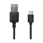 Кабель Prime Line (7213) USB - USB Type-C, 1.2м, черный