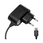 Зарядное устройство Prime Line (2302), micro USB 1000 mA, черное