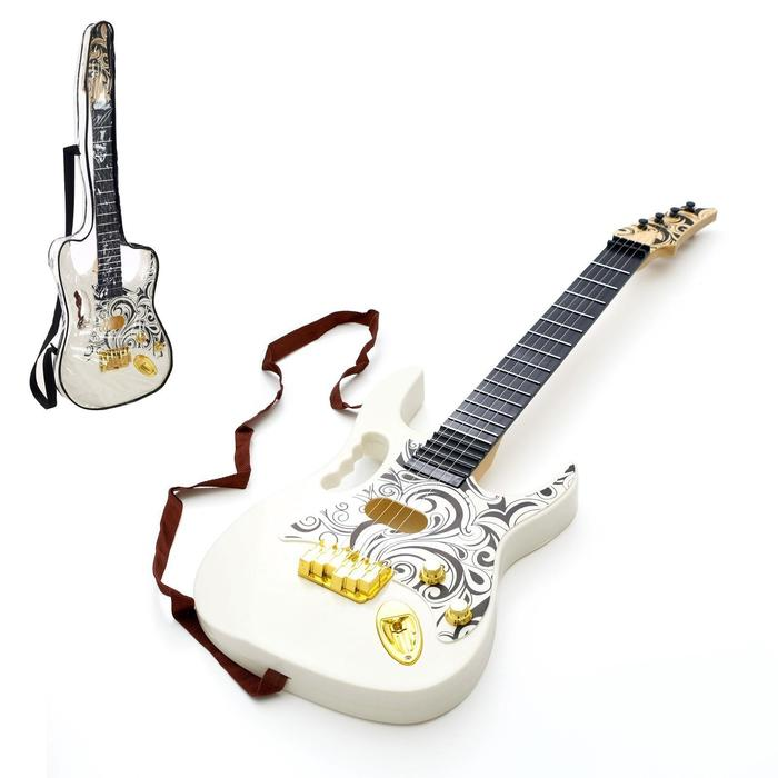 """Musical toy guitar """"Music explosion"""", in the case"""