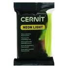 Полимерная глина запекаемая, Cernit Neon, 56 г, жёлтая, №700