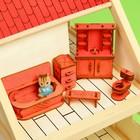 """Набор кукольной мебели с гравировкой """"Ванная"""", цвет МИКС"""