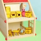 """Набор кукольной мебели с гравировкой """"Кухня"""", цвет МИКС"""