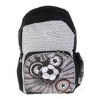 Рюкзак школьный Proff Street Ball 39*28*16 см, серый