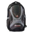 Рюкзак школьный эргономичная спинка 38*29*18 см, Proff Motostyle, ченрный