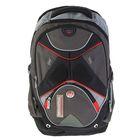 Рюкзак школьный эргономичная спинка 38*29*18 см, Proff Motostyle, чёрный
