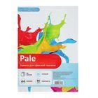Бумага цветная А4, 50 листов Calligrata Пастель, 80 г/м², голубая