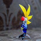 """Сувенир из стекла миди """"Попугай"""", микс, 11,5 х 5 х 3,5 см"""