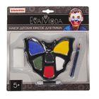 Набор детских красок для грима 6 цв; 8,1г, аппликатор, спонж, карандаш