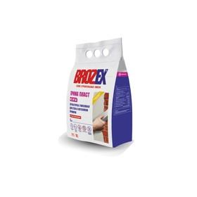Смесь штукатурная Brozex Прима Пласт GP55 ГИПСОВАЯ 3,0 кг