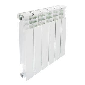 Радиатор биметаллический STI, 500х80 мм, 6 секции Ош