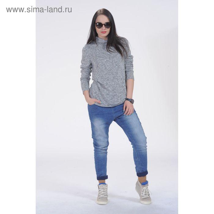 Джемпер женский, размер 50, рост 164 см, цвет серый 6395