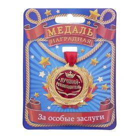 Медаль 'Лучший руководитель' Ош