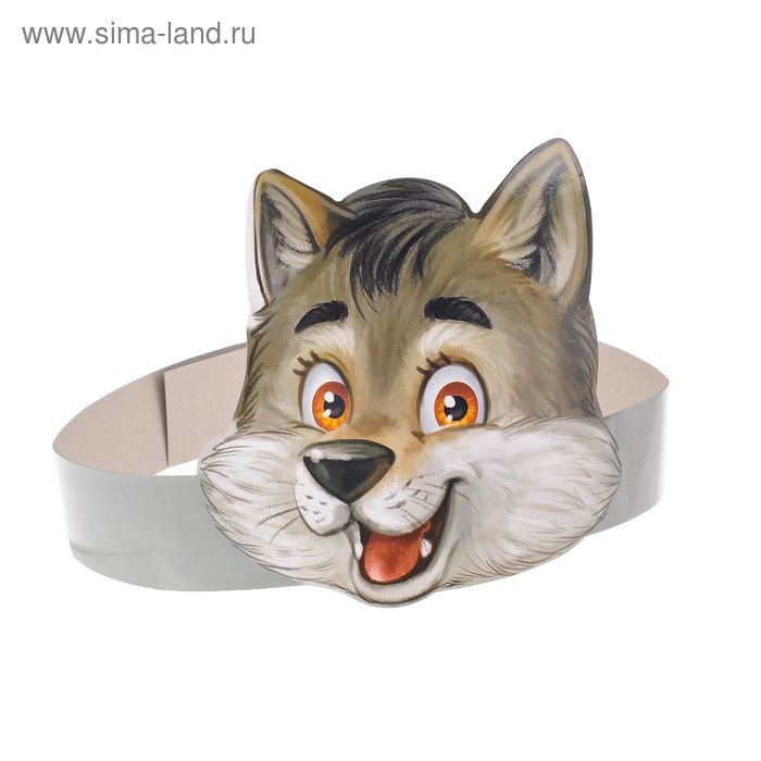 """The mask on the rim """"Wolf"""""""