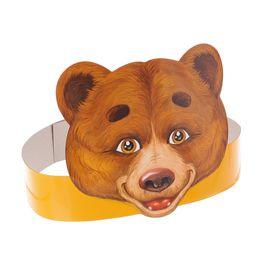 """Маска на ободке """"Медведь"""""""