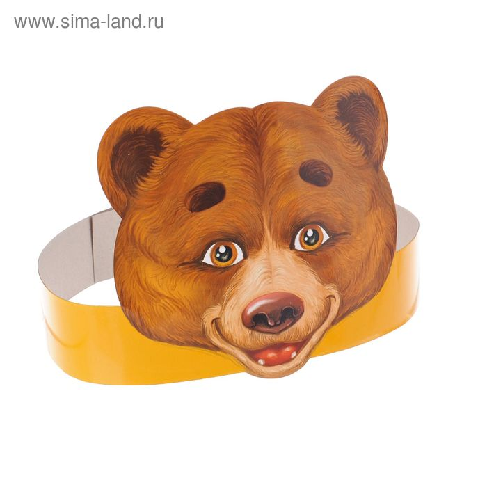 """The mask on the rim """"Bear"""""""
