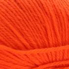 """Пряжа """"Люкс"""" 100% мериносовая шерсть 200м/50гр (0493, ярко-оранжевый)"""