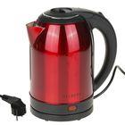 Чайник электрический GELBERK GL-336, 2000 Вт, 2 л, красный