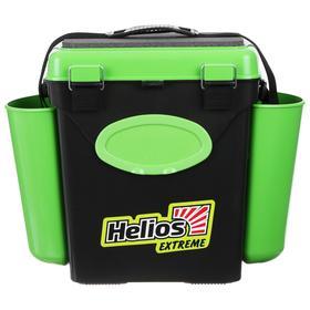 Ящик зимний Helios FishBox 10 л, односекционный, цвет зелёный Ош
