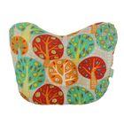 Подушка анатомическая «Фруктовый сад», 20х25 см, цвет бежевый