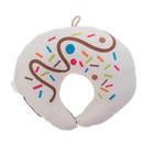 Подушка дорожная детская «Рогалик» для шеи, цвет шоколад