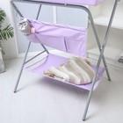 Пеленальный столик «Фея», складной, цвет сиреневый - фото 105549946