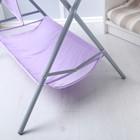 Пеленальный столик «Фея», складной, цвет сиреневый - фото 105549947