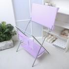 Пеленальный столик «Фея», складной, цвет сиреневый - фото 105549949