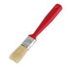 """Кисть плоская """"Мелодия цвета"""", 25х12 мм, ручка пластик, натуральная щетина"""