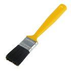 """Кисть плоская """"Мелодия цвета"""", 35х12 мм, ручка пластик, искусственная щетина"""