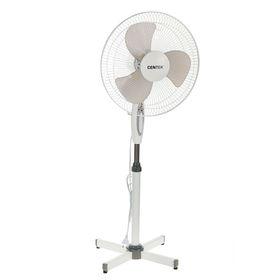 Вентилятор Centek CT-5004 GRAY, напольный, 40 Вт, 43 см, 3 режима, серый