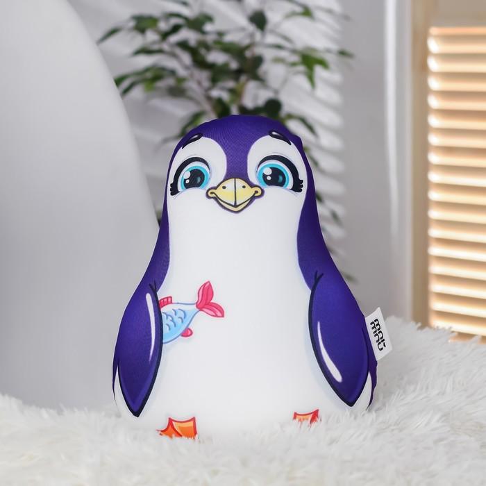 """Игрушка антистресс """"Пингвин с рыбкой"""""""