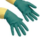 Перчатки для профессиональной уборки усиленные S, цвет зелёный