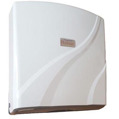 Диспенсер для листовых полотенец SD32, цвет бело-коричневый