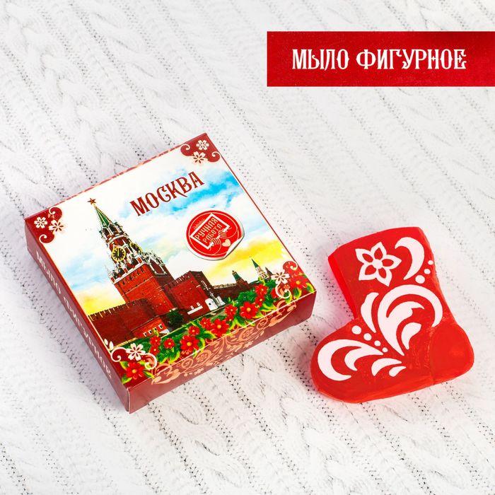 Мыло в форме валенка «Москва», 70 гр